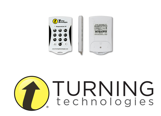Turning Technologies ResponseCard RF Clickers